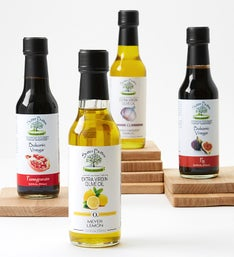 Infused Extra Virgin Olive Oil & Balsamic Vinegars