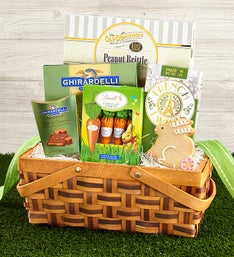 Gourmet Chocolate and Sweets Easter Basket