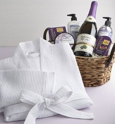 Pampered Perfection Spa Basket & Sparkling Juice