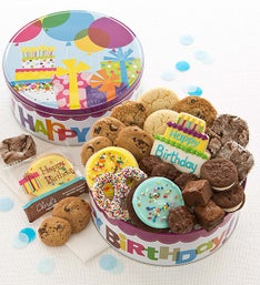 Cheryl's Birthday Gift Tin with Treats