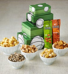 Sports Fan Snacks & Sweets Tower