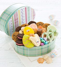 Cheryl's Easter Gift Tin with Treats Assortment
