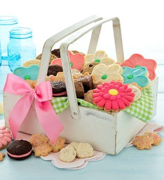 Cheryl's Antique Snack Basket