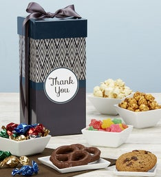 Popcorn Factory Simply Stated Thank You Snack Box