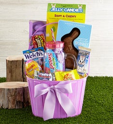 Favorite Easter Basket with Harry London Bunny