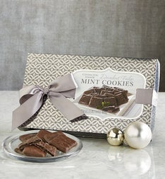 Decadent Fudge Mint Cookie Box