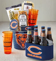 NFL Licensed Tailgate Snacks - Deluxe with Cooler