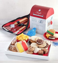 Cheryl's Grill Shaped Box with Treats