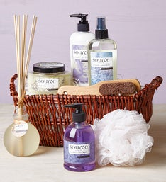 Denarii Lavender Spa Sensations Basket