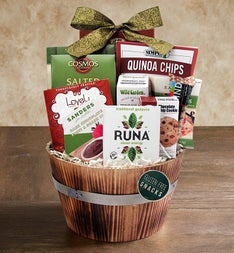 The Gluten Free Gourmet Gift Basket