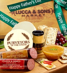 Lucca & Sons™ Fathers Day Sausage & Cheese Box