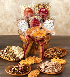 Grand Harvest Sweets & Savories Basket