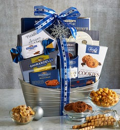 Distinctive Delights Holiday Gift Basket