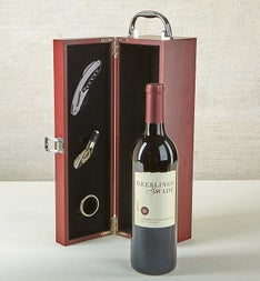 Cabernet Wine Gift Box with Accessories