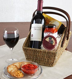 Cabernet Wine Country Escape Gift Basket