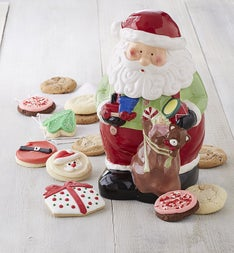 Cheryl's Collector's Edition Santa Cookie Jar