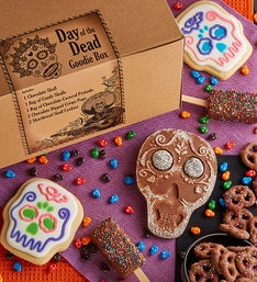 Day of the Dead Halloween Goodie Box