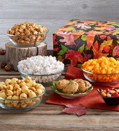 The Popcorn Factory Fall Colors Sampler Box