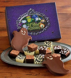 Harry and David Halloween Chocolates Box