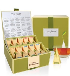 With Caring Concern Tea Forte Tea Collection
