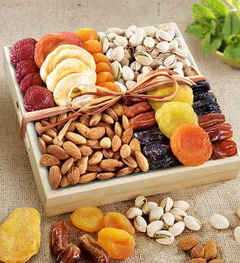 A Spirit of Peace Fruit  Nut Crate