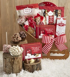 Chocolate Cheer Special Delivery Sleigh Gift
