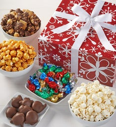 The Popcorn Factory Snowflake Sampler