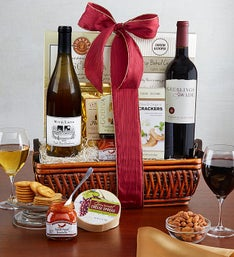 Fruitful Vineyards Wine Gift Basket