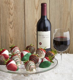 Christmas Strawberries & Cabernet Sauvignon