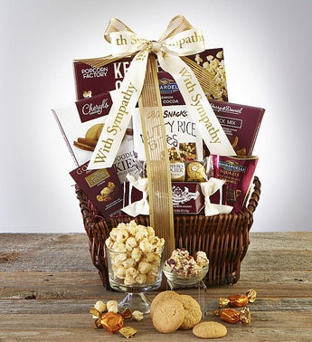 Sympathy Gift Baskets & Sympathy Food Gifts | 1800Flowers com