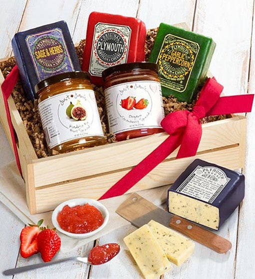 Plymouth Cheese & Just Jan's Spreads Gourmet Gift