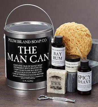 The Man Can-Mens Grooming Gift Set