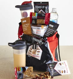 Weekend Warrior Healthy Snacks Gift Bag