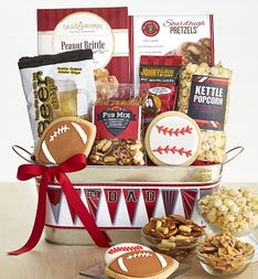 #1 Dad Ultimate Sports Fan Gift Basket