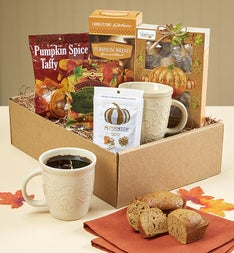 Gourmet Pumpkin Spice Market Box with Mug