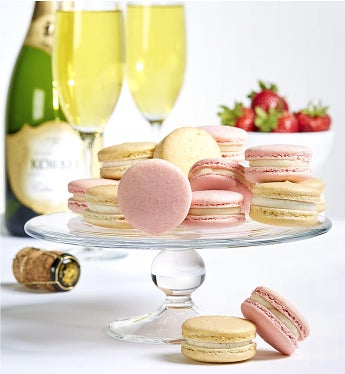 Dana's Bakery Strawberry & Champagne Macarons