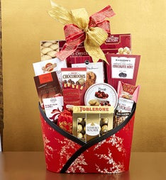 Chinese New Year With Love and Luck! Gift Basket