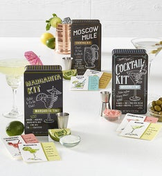 Cocktail Kit Trio 3 Tin Assortment