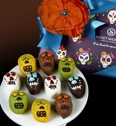Drop Dead Gorgeous Skull Truffles