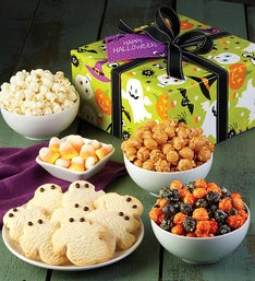 The Popcorn Factory Halloween Party Sampler