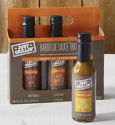 Just Grillin' BBQ Sauce Gift Set