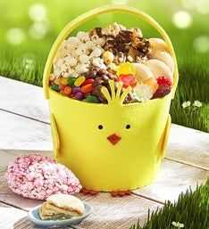 The Popcorn Factory Chick Easter Basket