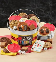 Cheryls One Smart Cookie Treats Pail