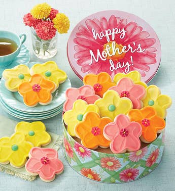 Cheryl's Happy Mother's Day Tin with Cut-Outs