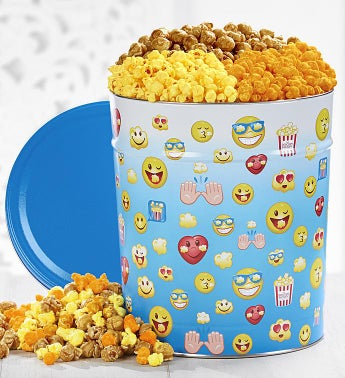The Popcorn Factory Laugh Out Loud 3 Way Tin