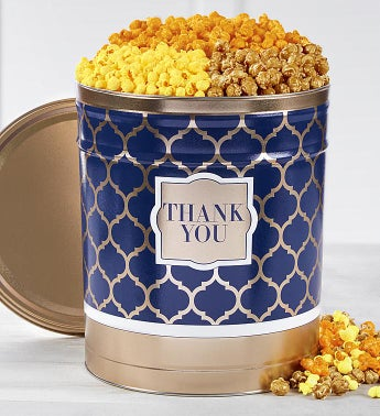Popcorn Factory Shining Sentiments Thank You Tin