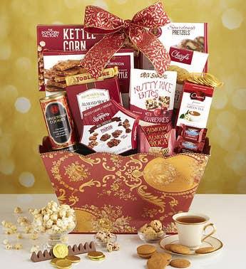 Chinese New Year Treats Gift Basket