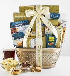 Peace, Prayers & Blessings Sympathy Gift Basket