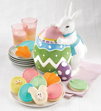 Cheryls Easter Cookie Jar