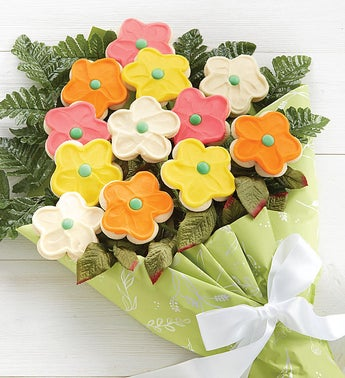 Cheryls Mothers Day Cookie Flowers